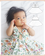 Load image into Gallery viewer, Knotty Dress - 6-12months