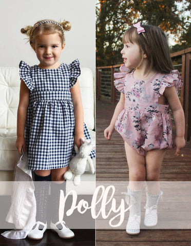 BUNDLE : Polly Pinafore + Baby Polly