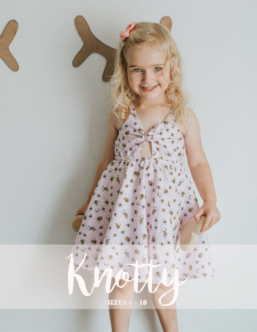 Knotty Dress - NEW!!!