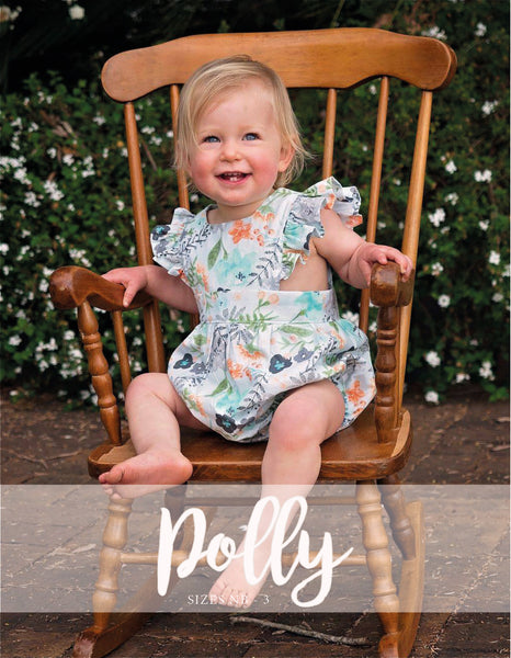BUNDLE : Baby Polly + Polly Shortsuit/Pantsuit