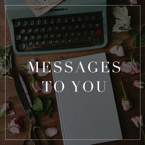 Messages To You