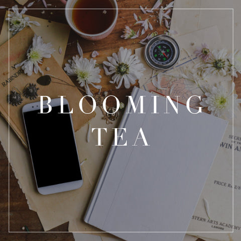 Entire Blooming Tea Collection