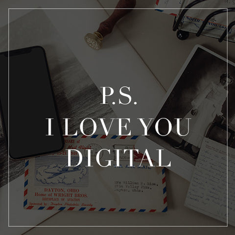 PS I Love You Digital Collection