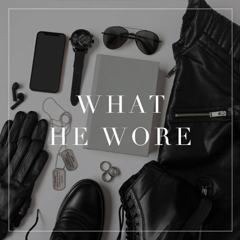 Entire What He Wore Collection