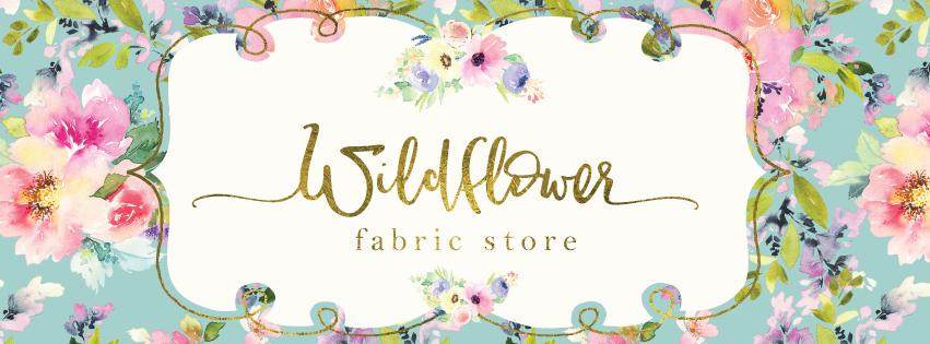 Wildflower Fabric Store Logo
