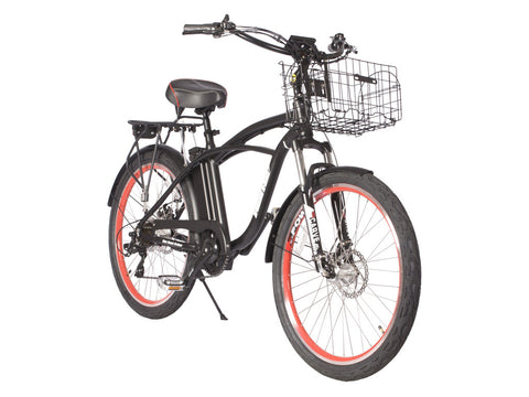 Kona 36 Volt Men's Electric Beach Cruiser Bicycle
