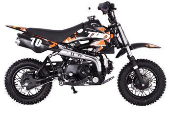 Small 110cc Kids Dirt Bike