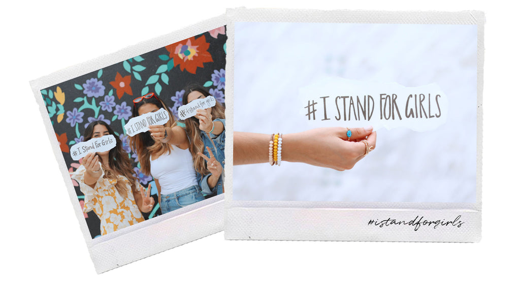#IStandForGirls Campaign We Are Andrex