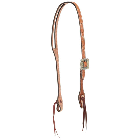 "5/8"" New World Harness Oval Ear Headstall with Dexter Buckle"
