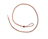 "1/2"" x 52"" - Barrel Racing Over & Under Harness  Leather Round Whip"