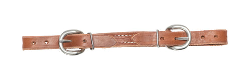 "5/8"" Harness Leather Curb Strap"