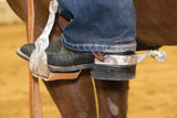 Anti-Slip Rubber Comfort – Reining Mens Spurs