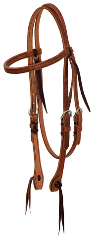 "5/8"" Leather Browband Headstall"