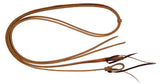 "1/2"" x 8' Harness Leather Split Reins"