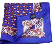 Mens Silk Pocket Squares