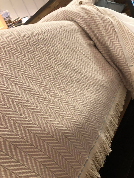 Turkish Cotton Blanket, Bed Cover