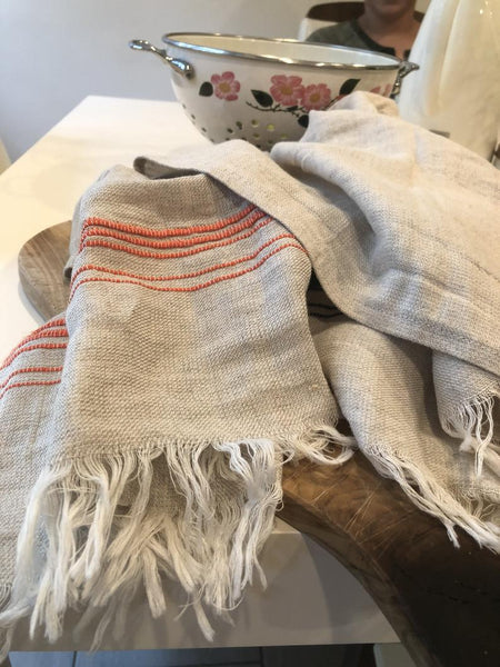 Linen Hand/Face Towel, Tea Towel, Kitchen Towel
