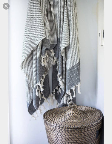 100% cotton handwoven turkish towel