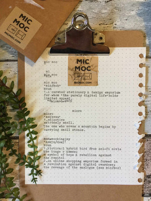 A little more about Mic Moc the curated emporium
