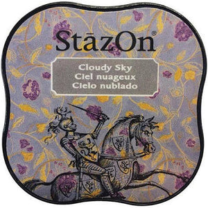 Staz On Midi Ink Pad - Cloudy Sky from micmoc.com at Mic Moc Curated Emporium