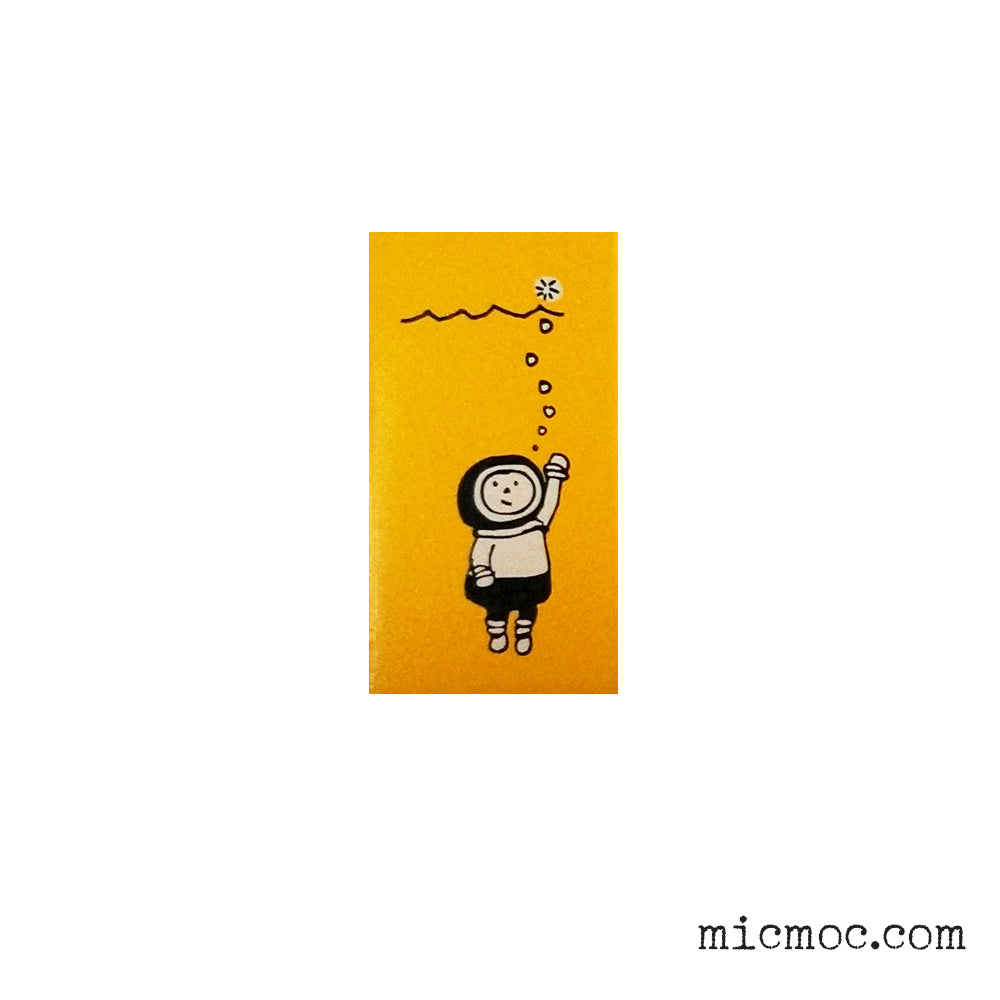 Kodomo No Kao - Fusen Stamp 'Diver' From micmoc.com at Mic Moc Curated Emporium