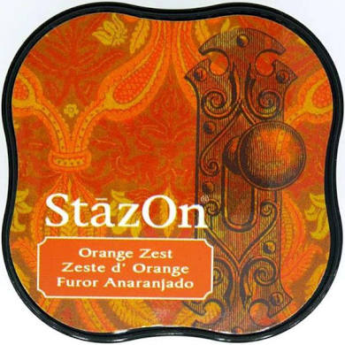 Staz On Midi Ink Pad - Orange Zest at micmoc.com at Mic Moc Curated Emporium
