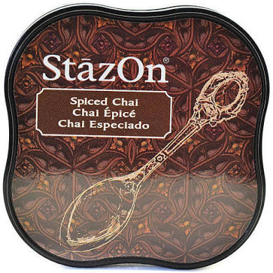 Staz On Midi Ink Pad - Spiced Chai from micmoc.com at Mic Moc Curated Emporium