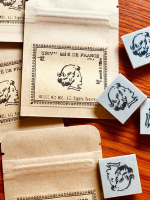 'Vintage Girl Portrait' Rubber Stamp by Mic Moc - My Storybook from micmoc.com at Mic Moc