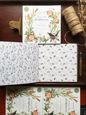 "'At Home In The Wildflowers' 6"" x 6"" Paper Pad - Craft Consortium from micmoc.com"