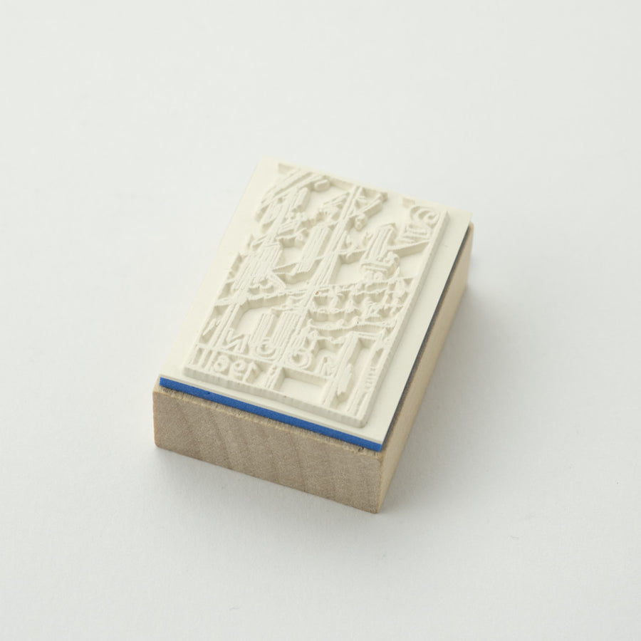 Chamil Garden (D10 - XM-ST-039) Stamp at micmoc.com at Mic Moc