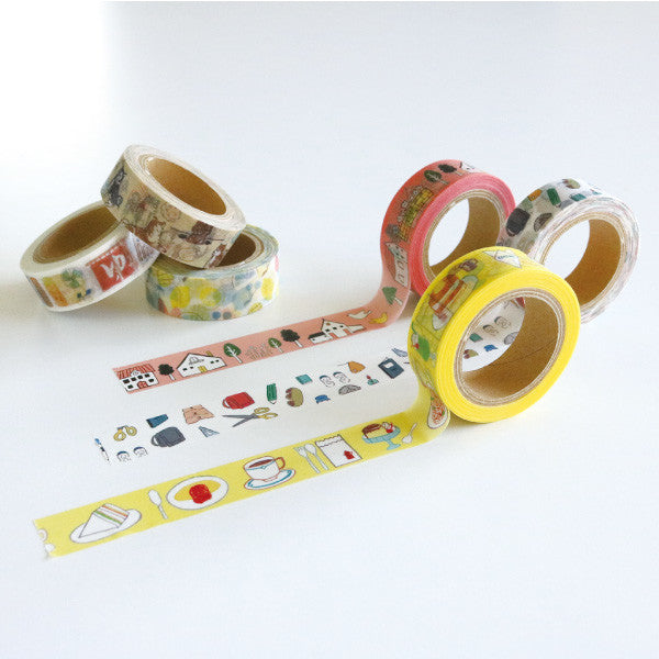 Chobit Wit Washi Tape - (kissaten) Japanese-style Tea Room from Mic Moc at micmoc.com