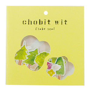 Chobit Wit Die-cut Sticker Set - Forest by micmoc.com at Mic Moc
