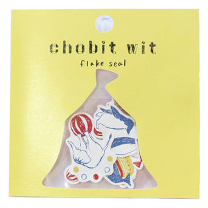Chobit Wit Die-cut Sticker Set - Circus by micmoc.com at Mic Moc
