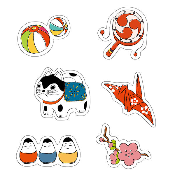 Wawomon Boxed Sticker Set - Paper Marche Dog