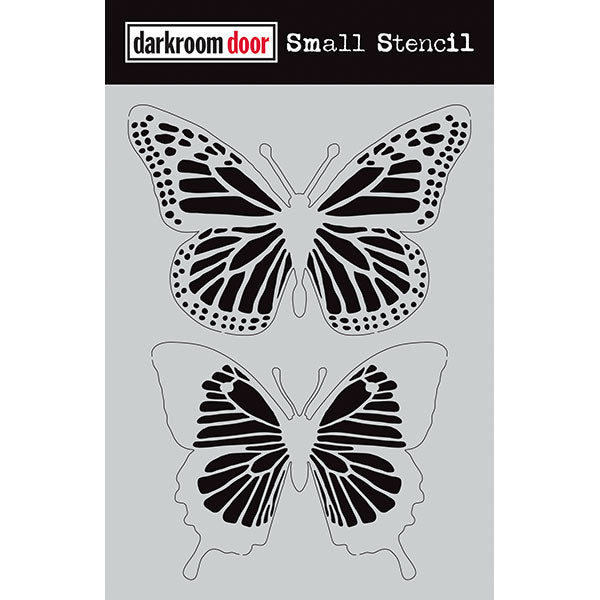Darkroom Door Small Stencil - Butterflies at micmoc.com at Mic Moc Curated Emporium