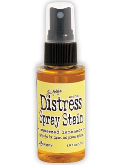 Distress Spray Stain - Squeezed Lemon from Mic Moc at micmoc.com