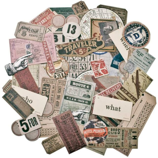 Tim Holtz® Idea-ology 'Expedition' Die Cuts TH93115 from micmoc.com