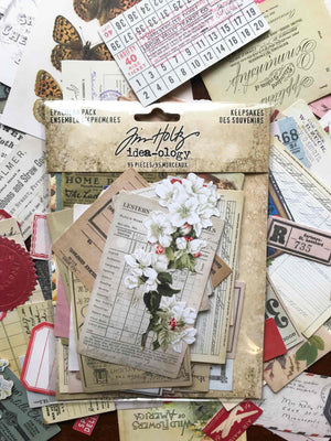 Tim Holtz® Idea-ology 'Keepsakes' Die Cuts TH93958Tim Holtz® Idea-ology 'Keepsakes' Die Cuts TH93958 from micmoc.com