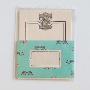 Mini Letter Writing Set - Library Squirrel from micmoc.com at Mic Moc Curated Emporium