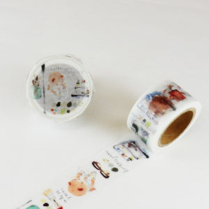 Liang Feng Watercolour Art Syoukei Washi Tape - The Bear Sketch Life