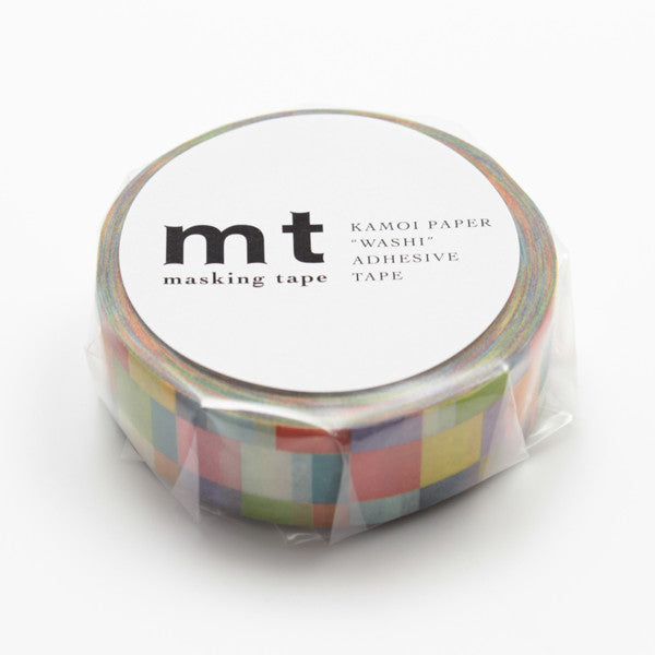 MT Washi Tape - Rainbow Mosaic