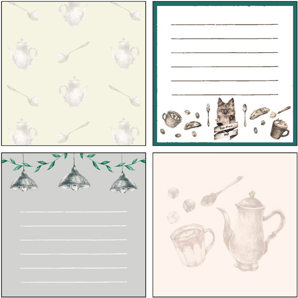 Memo Pad - Cafe Fox from micmoc.com at Mic Moc Curated Emporium