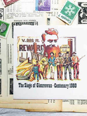 'Ned Kelly' The Siege Of Clenrowan-Centenary 1980 (First Day Cover Envelope) Ephemera Pack from micmoc.com at Mic Moc