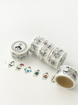 Ohagiyama Washi Tape - 'KI' Seasonal Items by micmoc.com at Mic Moc