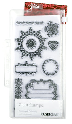 Kaisercraft  Clear Stamps - Pennyroyale Collection PR149 at micmoc.com from Mic Moc