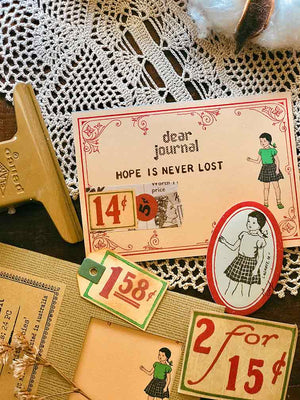 Memo Paper Set 'Petite Joies' MP001 - Mic Moc (24 Sheets)  '小さな喜び' メモ用紙 by micmoc.com at Mic Moc Curated Emporium