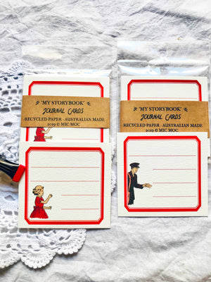 Red Label Vintage Journal Card Set  - RJC 001 'My Storybook' from Mic Moc at micmoc.com