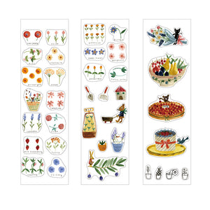Shinzi Katoh Boxed Sticker Roll - Herb Garden at micmoc.com at Mic Moc
