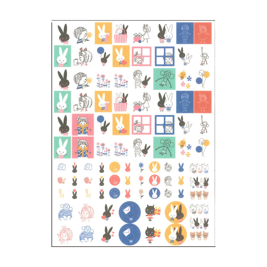 Shinzi Katoh Planner Stickers  at micmoc.com Mic Moc Curated Emporium