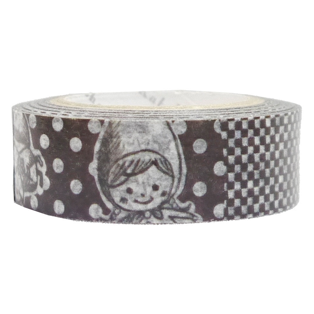 Shinzi Katoh Red riding hood black washi tape micmoc.com Mic Moc Curated Emporium
